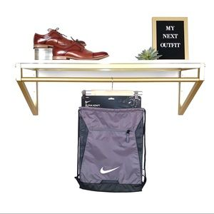 NWT!!! Nike Grey and Black Alpha Adapt Gymsack
